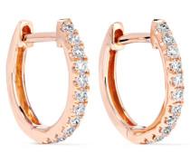 Huggies Ohrringe Aus 18 Karat  Mit Diamanten