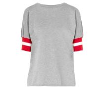 Sunkissed T-shirt Aus Baumwoll-jersey Mit Gerippten Jersey-besätzen -