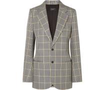 Grimaud Baumwoll-blazer Mit Glencheck-muster -
