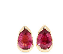 Bloom Ohrringe Aus 18 Karat Rosé Mit Turmalinen Und Diamanten