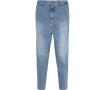 Super Lo Slung Verkürzte Boyfriend-jeans -