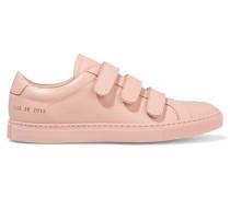 Achilles Three Strap Leder-sneakers - Babypink