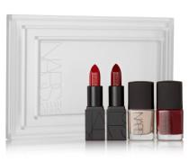 + Sarah Moon Thousand Worlds Lip & Nail Set – Set Aus Zwei Lippenstiften Und Zwei Nagellacken - Rot