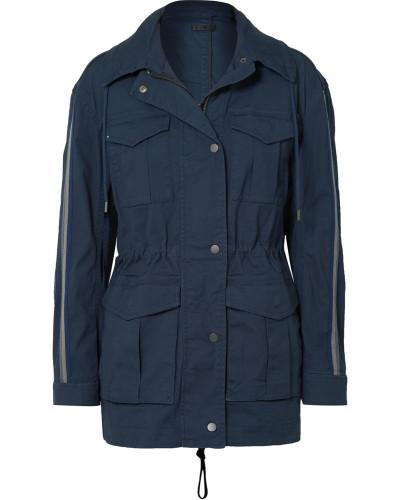 Jacke aus Canvas aus einer Baumwollmischung