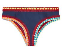 Tasmin Bikini-höschen Mit Häkelbesatz -