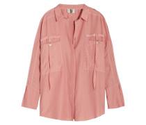 Danvers Hemd Aus Einer Baumwoll-seidenmischung - Pastellrosa