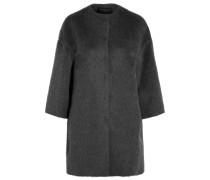 Mantel Aus Einer Lama-wollmischung - Grau