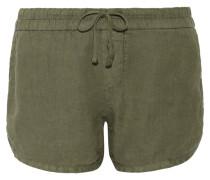Dolphin Shorts Aus Leinen -