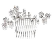 Violet Rhodinierte Haarspange Mit Swarovski-kristallen -