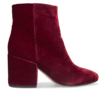 Taye Ankle Boots Aus Samt -