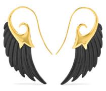 Wing Ohrringe Aus 18 Karat  Und Ebenholz