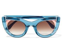 Wavvvy Sonnenbrille Mit Cat-eye-rahmen Aus Azetat -