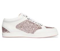 Miami Sneakers Aus Leder Und Einsätzen Mit Glitter-finish -