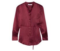 Wiley Hemd aus Seidensatin