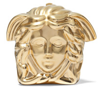 Palazzo Clutch Aus Metall - Gold