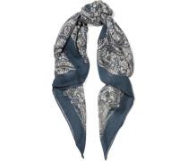Tuch aus einer Kaschmir-Seidenmischung mit Paisley-Muster