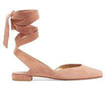 Supersonic Pumps Aus Veloursleder -