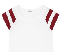 Varsity Active T-shirt Aus Jersey Aus Einer Baumwoll-modalmischung Mit Streifen -