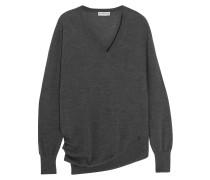 Pullover aus einer Woll-Seiden-Kaschmirmischung