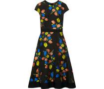 Kleid aus Floralem Jacquard -