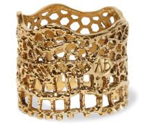 Lace Vergoldeter Ring