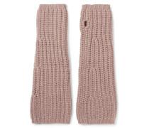 Fingerlose Handschuhe Aus Kaschmir -