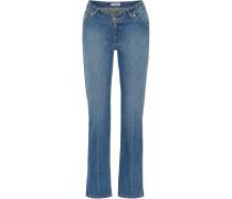 Dip Halbhohe Jeans Mit Geradem Bein -