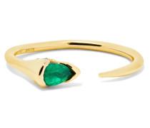 Sprout Ring Aus 18 Karat  Mit Smaragd Und Diamanten