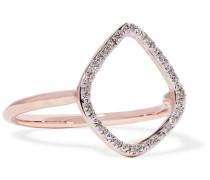 Riva Ring mit -vermeil und Diamanten