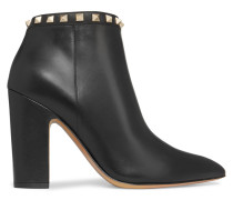 Rockstud Ankle Boots Aus Leder -