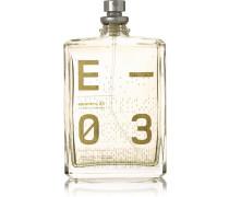 Escentric 03 – Vetiveryl Acetat, Mexikanische Limette & Ingwer, 100 Ml – Parfum