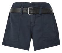 Saint Shorts aus Baumwolle mit Gürtel