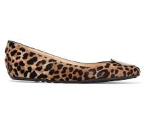 Wray Ballerinas Aus Kalbshaar Mit Leopardenprint - Leoparden-Print