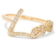 + Tracey Emin Love Ring Aus 18 Karat Gold Mit Diamanten