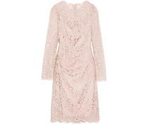 Kleid aus Schnurgebundener Spitze aus einer Baumwollmischung -