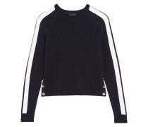 Zoinks Pullover Aus Kaschmir Mit Streifen - Mitternachtsblau