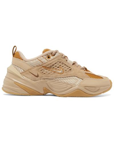 M2k Tekno Sneakers aus Veloursleder, Canvas und Mesh