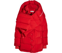 Steppjacke Aus Shell In Oversized-passform - Rot