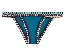 Flor Bikini-höschen mit Häkelbesatz -