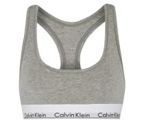 Modern Cotton Soft-bh Aus Einer Baumwollmischung Mit Stretch-anteil - Grau