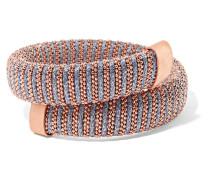 Caro Armband Mit auflage Und Baumwolle Mit Metallic-effekt