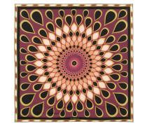 Tuch aus bedrucktem Seiden-Twill 90 cm x 90 cm