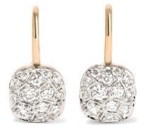 Nudo Ohrringe Aus 18 Karat Rosé Mit Diamanten