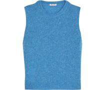 Wollpullover - Blau