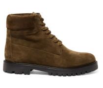 Farley Ankle Boots Aus Veloursleder -