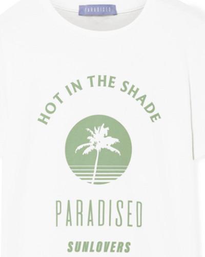 Hot Shade T-shirt aus Baumwoll-jersey