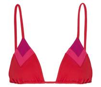 Vanishing Point Triangel-bikini-oberteil - Knallpink