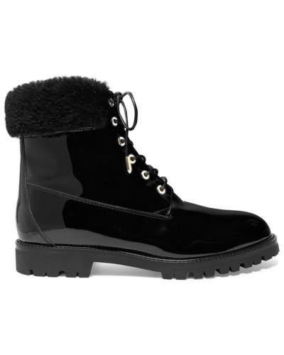 The Heilbrunner Ankle Boots aus Lackleder