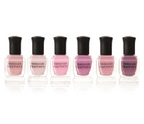 Bed Of Roses Set Of Six Nail Polishes – Set Aus Sechs Nagellacken -