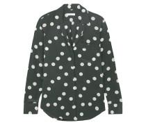 Keira Hemd Aus Vorgewaschener Seide Mit Polka-dots -